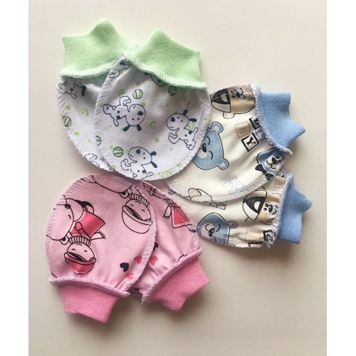 151 Рукавички для новорожденных