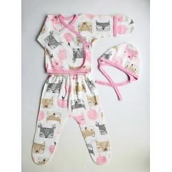 Комплект для новорожденных из интерлока ИНО 80-21